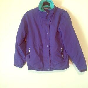 Patagonia fleece lined jacket